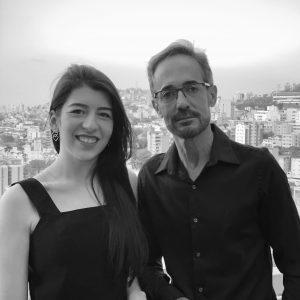 Evaldo Rios e Sara Leví