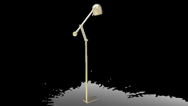 Luminária de piso Porcaro