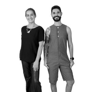 Flávia Vaz e Rafael Medeiros